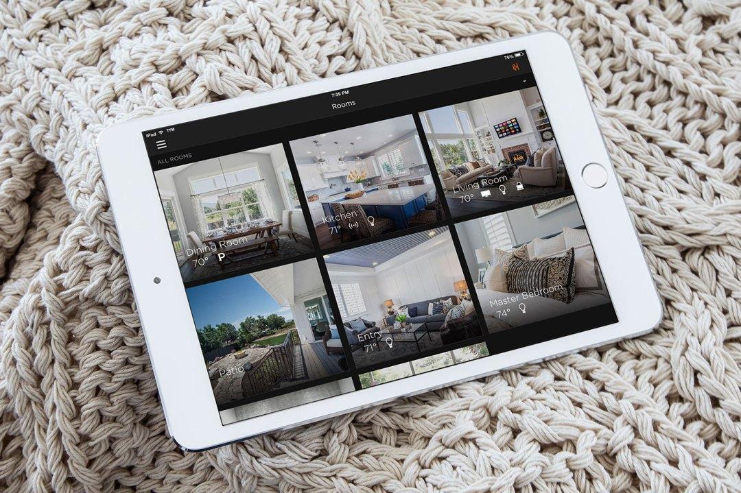 Savant Pro Home Automation Home Builders Salt Lake City