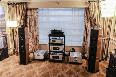Audio Research and Sonus Faber Venetian suite CES 2016