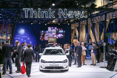 Volkswagen Connected Car CES 2016