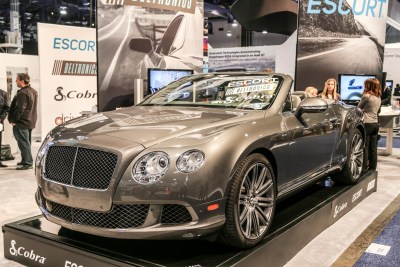 Bentley CONTINENTAL GT CONVERTIBLE CES 2016