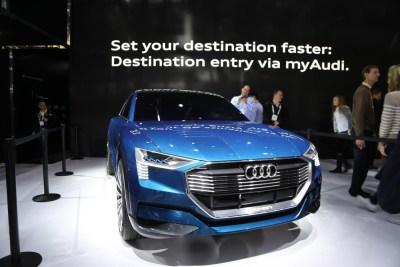 Audi e-Tron CES 2016