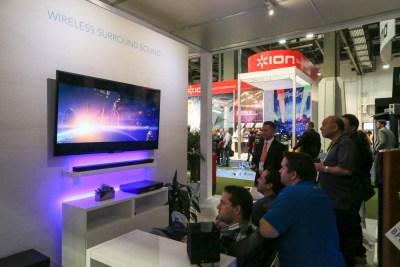 Definitive Technology Wireless Surround Sound CES 2016