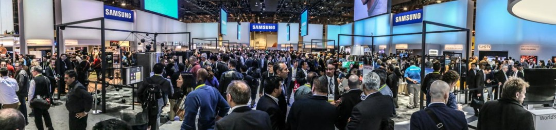 Samsung booth CES 2016