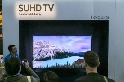 Samsung SUHD 8K TV CES 2016