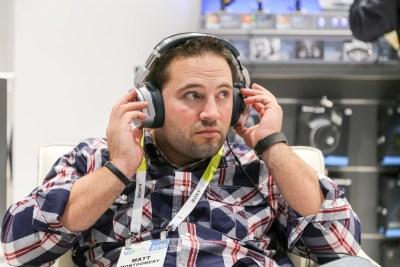 Sennheiser Hi-Res Audio Headphones CES 2016