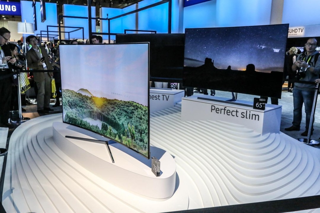 Samsung KS9500 SUHD TV with built-in SmartThings Hub, Salt Lake City