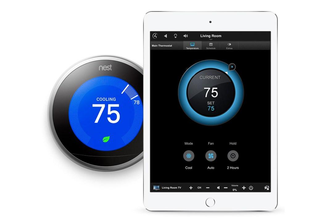 Nest Thermostat Works With Control4 Salt Lake City Utah