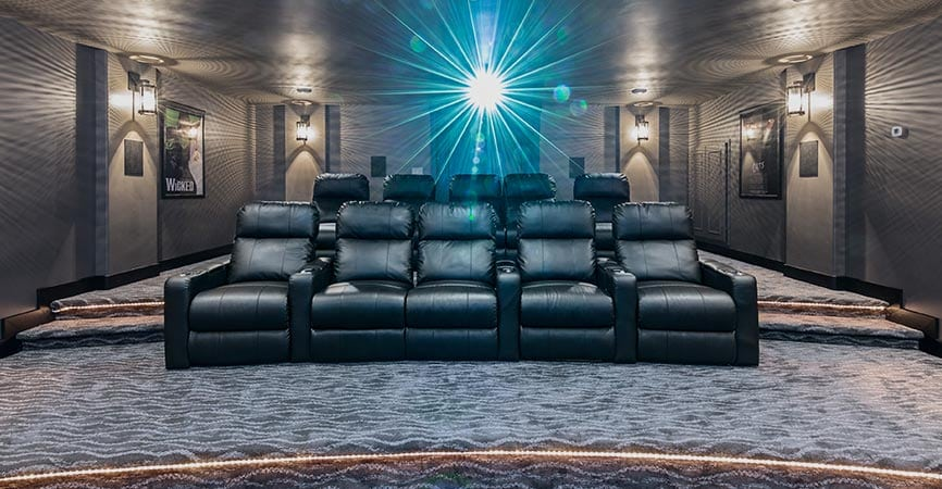 Seating Matters in a Home Theater