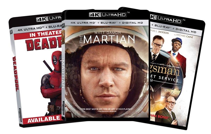 4K Ultra HD Blu-rays, Salt Lake City Ut