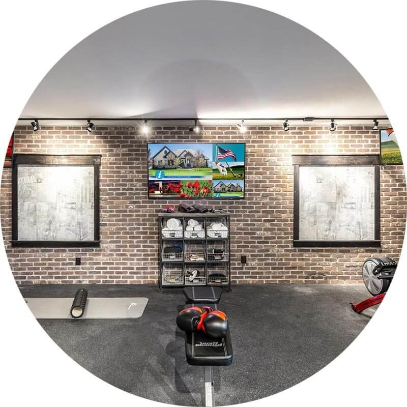Home Gym, Best Unique Space, EH Home Of The Year Awards 2016 A