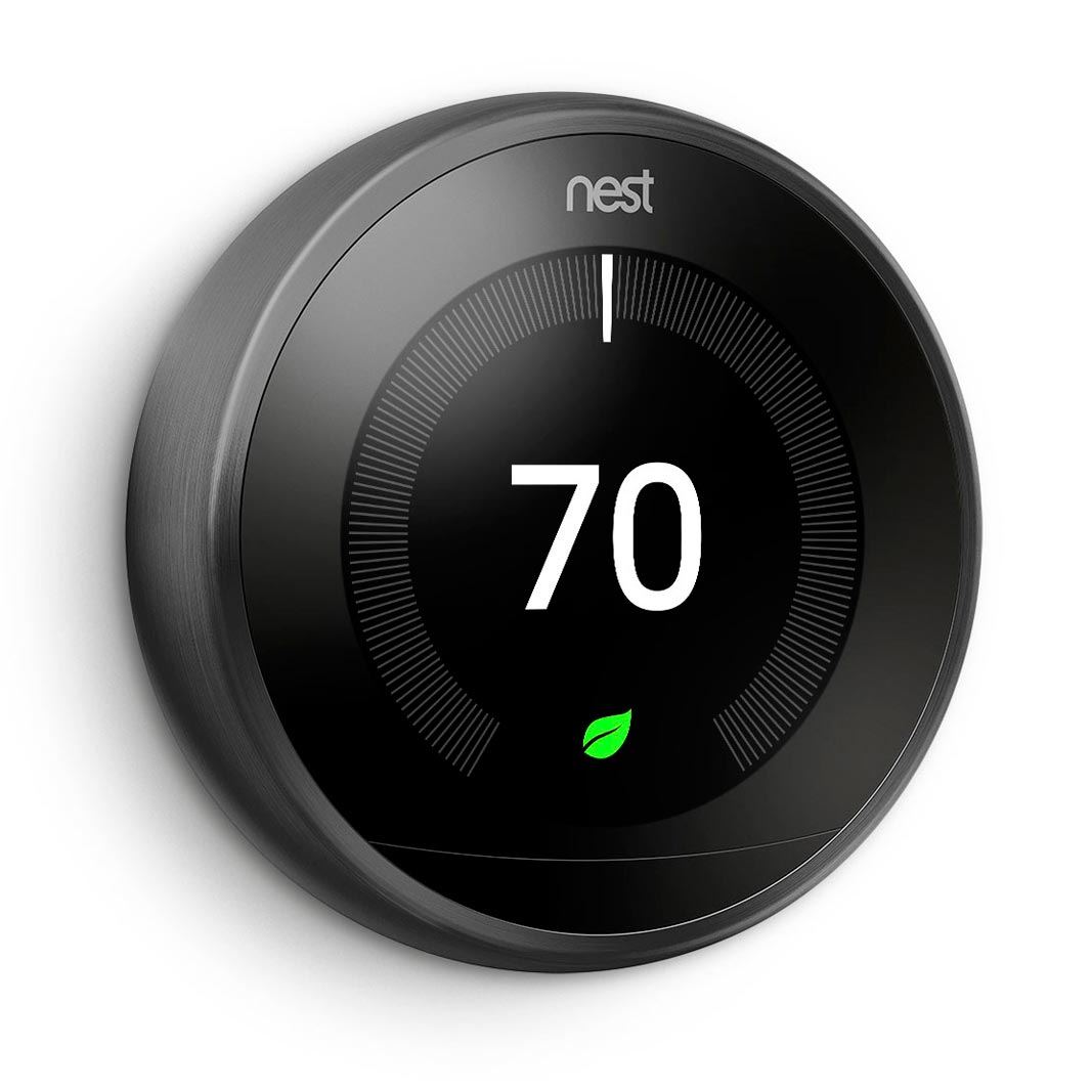 Nest Thermostat In Black, Sandy, Utah