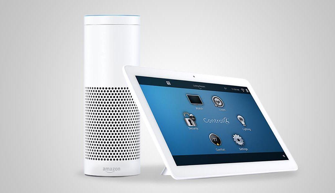 Using Amazon Alexa In My Control4 Smart Home