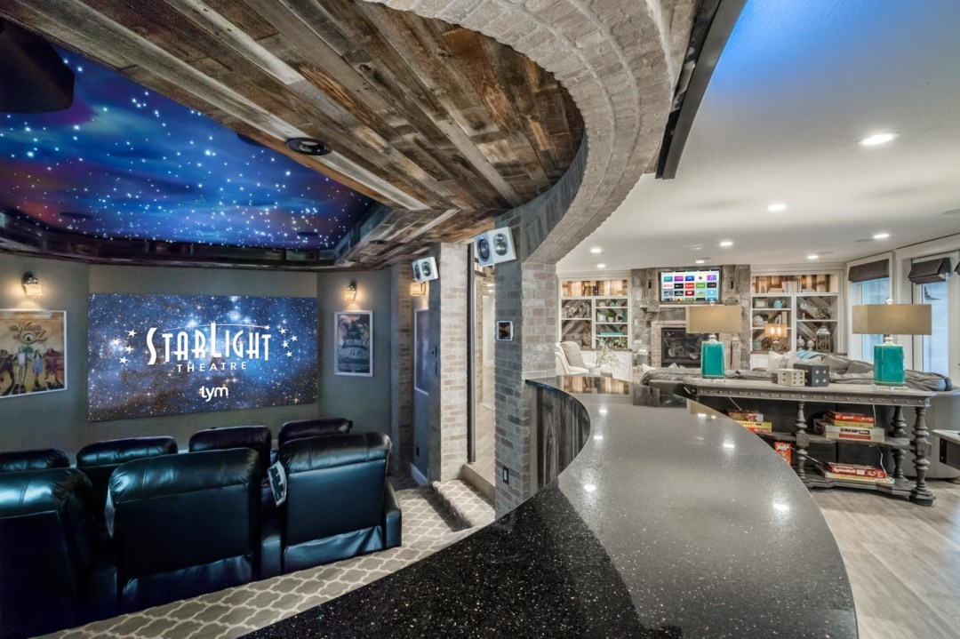 Home Theater/Media Room Project of the Year up to $50,000