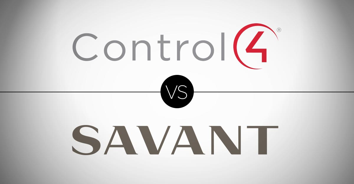 Control4 vs Savant. Which is Better?