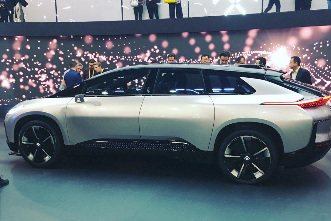 Faraday FF91 Autonomous EV at CES 2017