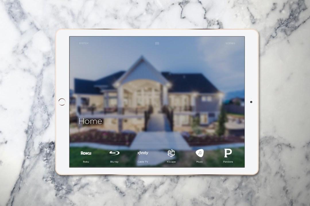 Savant Pro App for iPad