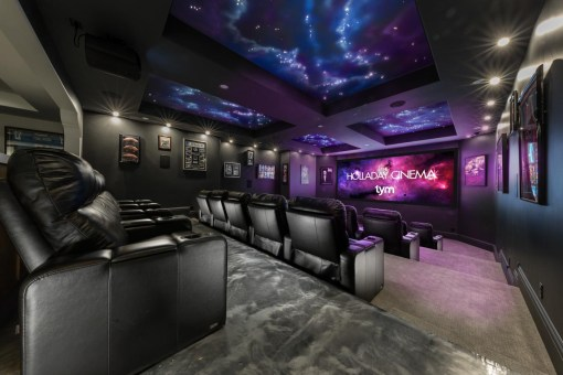 The Holladay Cinema 'Home Theater Of The Year', Ces 2018