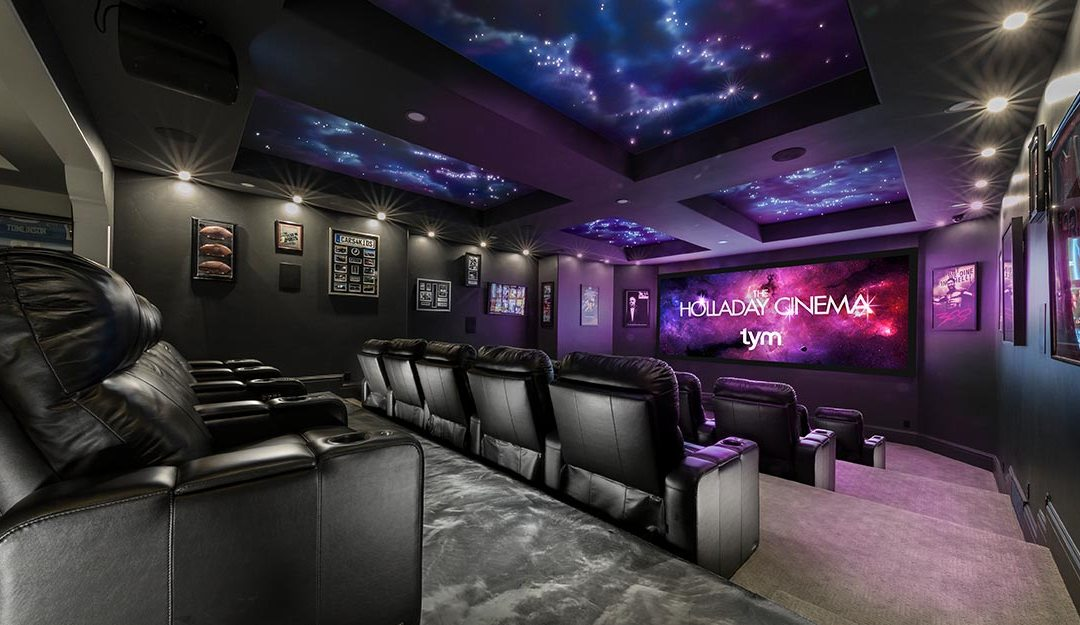 TYM Receives Prestigious Home Theater Design Award From CTA Inspiration Best Home Theater Design