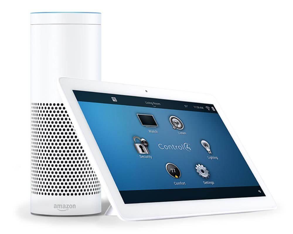 Control4 Home Automation Amazon Alexa Voice Control