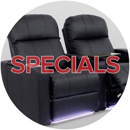 Utah Home Theater Seating Specials