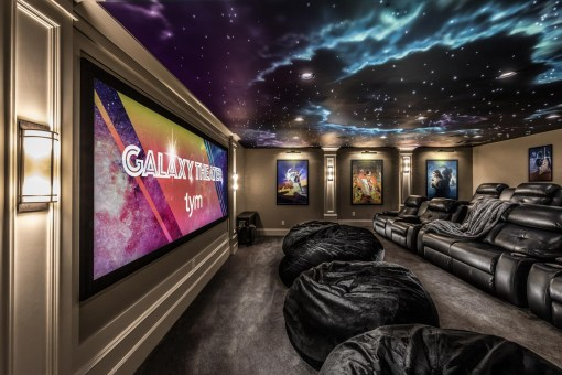 """Best Home Theater """"Gold Winner"""" 2018 Home of the Year Awards"""