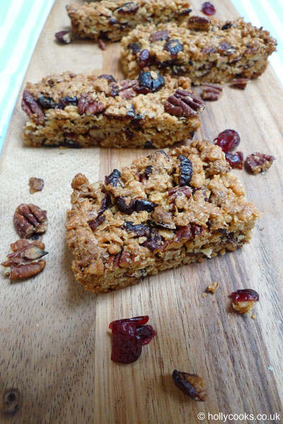 Holly-cooks-maple-cranberry-and-pecan-muesli-bars-recipe-four