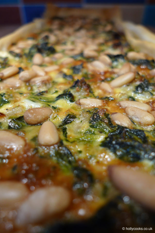 Holly-cooks-spinach-feta-and-pine-nut-tart-portrait