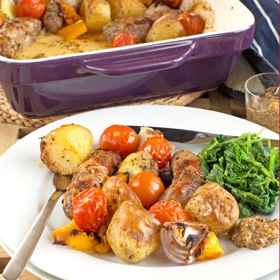 Type 1 Kitchenwinter sausage roast