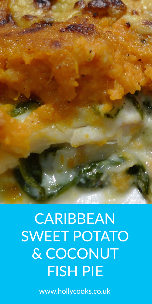 Holly-cooks-caribbean fish pie