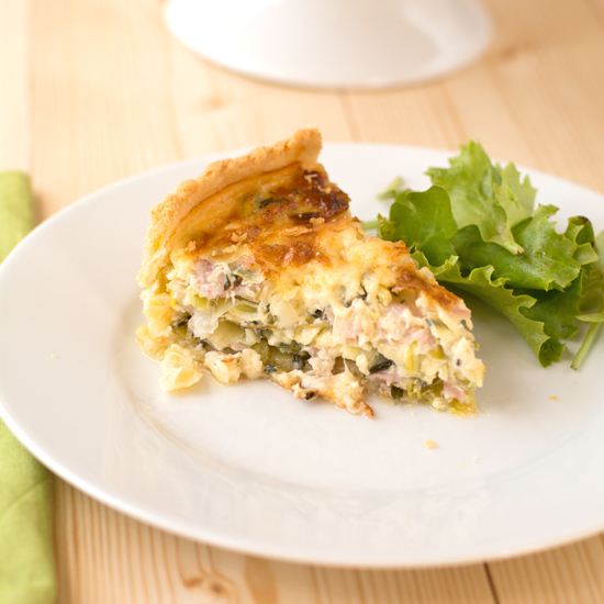 Holly-Cooks-leek-bacon-and-thyme-tart-piece-on-plate-side-detail-zoomed