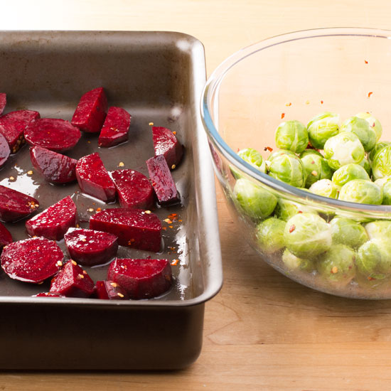 holly-cooks-roasted-brussel-sprouts-with-beetroot-chilli-and-honey-ingredients-ready-for-the-oven550