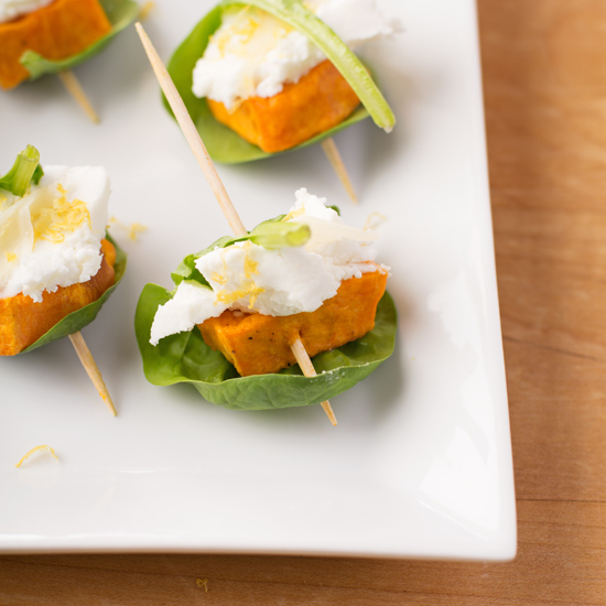 Holly-Cooks-sweet-potato-goats-cheese-ginger-and-spinach-canape-detail550