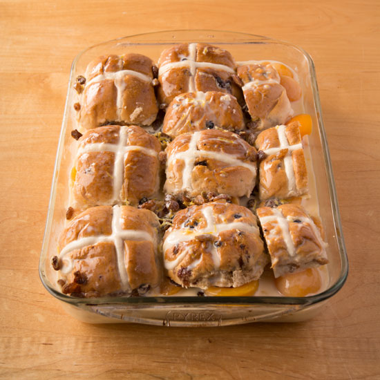 Holly-Cooks-Apricot-and-hot-cross-bun-bread-and-butter-pudding-ready-for-oven550