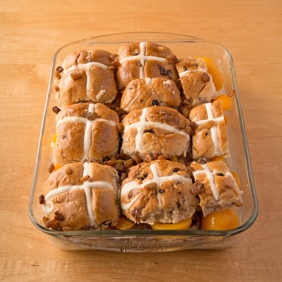 Holly-Cooks-Apricot-and-hot-cross-bun-bread-and-butter-pudding-top-of-buns-added550