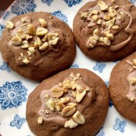 Catherine-Cotton-peanut-chocolate-and-caramel-cookies