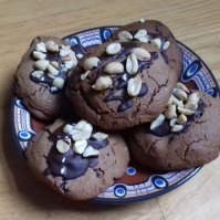 Juliet-Brown's-Peanut-chocolate-caramel-cookies