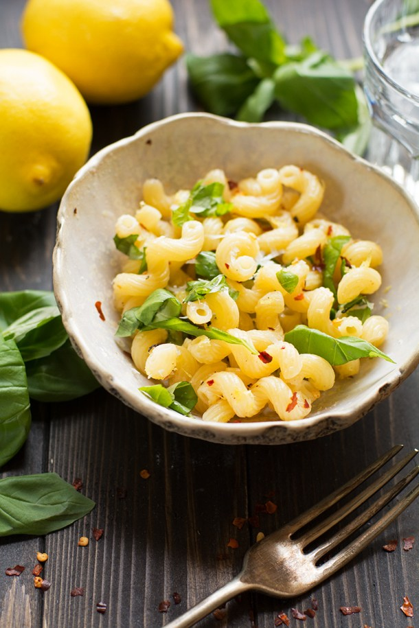 Super quick pasta
