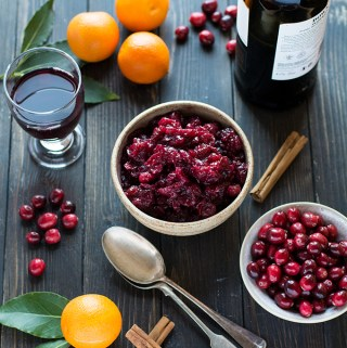 Christmas Cranberry sauce – freezable