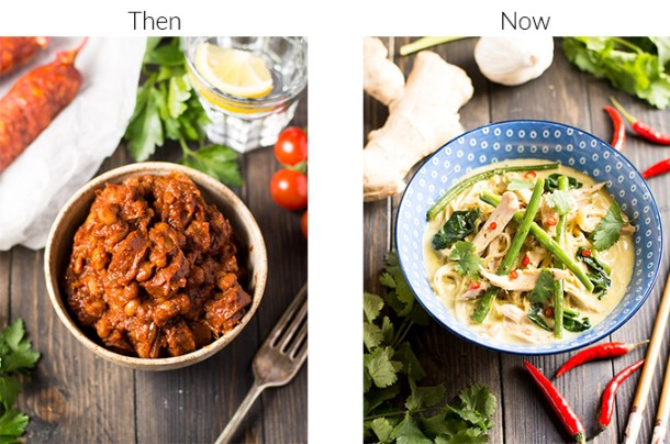 5 quick tips to transform your food photos Garnish-then-and-now-photos-
