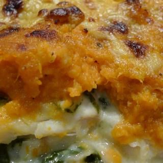 Caribbean sweet potato and coconut fish pie recipe