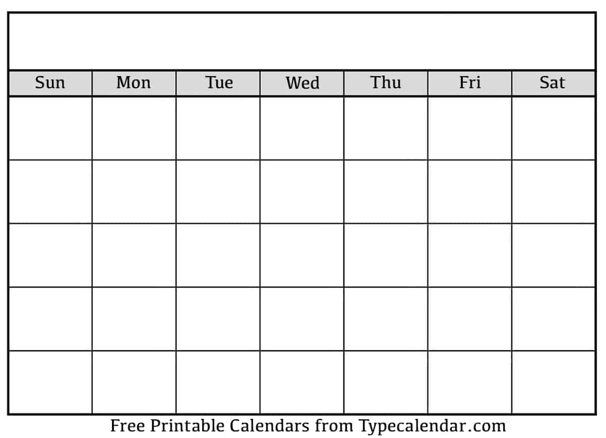 The spruce / derek abella here's a selection of five free printable heart templat. Download Printable Blank Calendar Templates