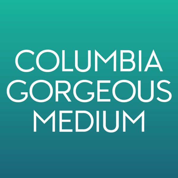 Product Image for Columbia Gorgeous Medium Font from Type Club