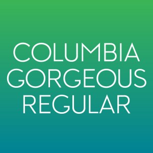 Product Image for Columbia Gorgeous Regular Font from Type Club