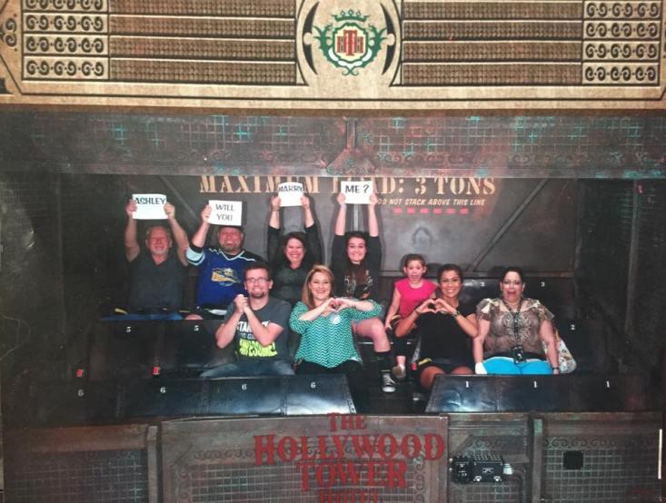 Ashley and Cameron's Disneyland Proposal