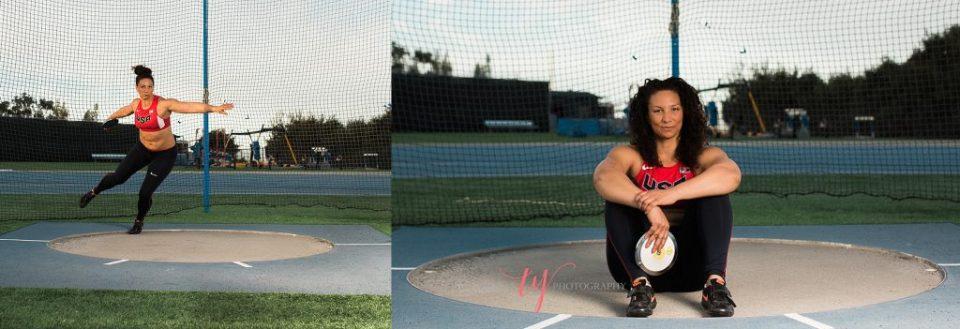 summer pierson discus thrower