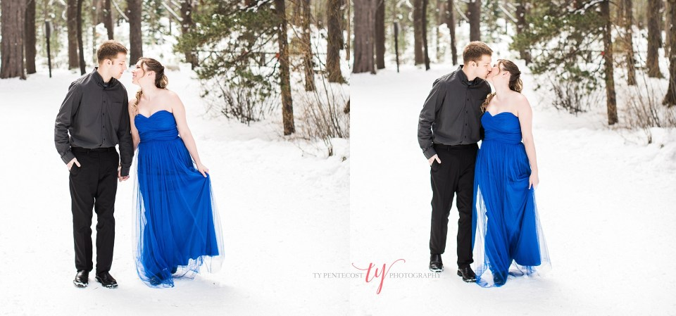 donner memorial state park engagement pictures