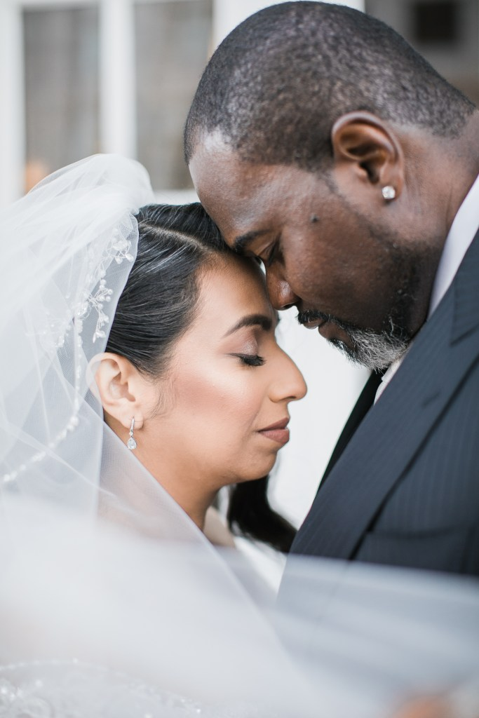 a couple share love before their wedding at The Westin San Jose