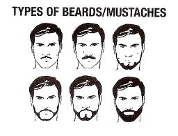 Types Of Beards Types Of