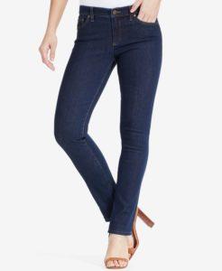 Ralph Lauren Super Stretch Modern Curvy Straight Jeans