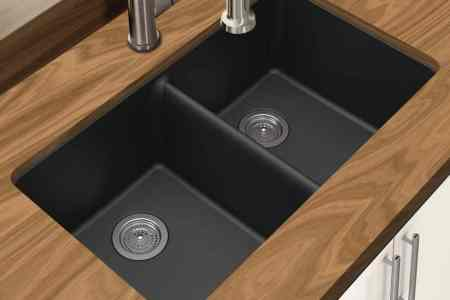 Types of Kitchen Sinks     Read This Before You Buy Winpro New Black Granite Quartz Composite Sink